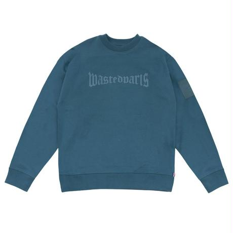 WASTED PARIS LONDON 450 PREMIUM CREW  RIVER BLUE