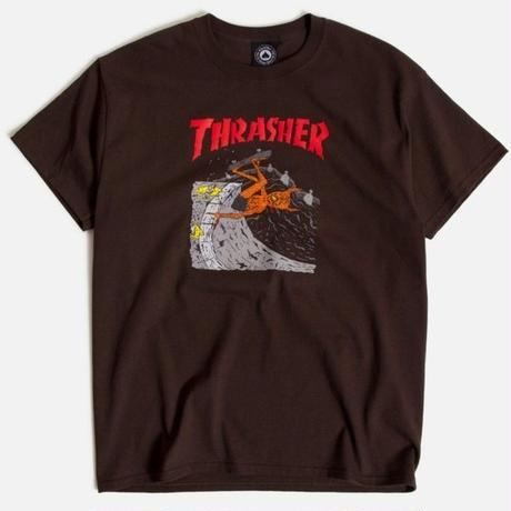 THRASHER X NECKFACE INVERT TEE