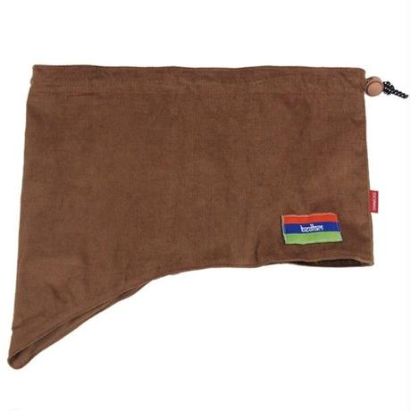 BEDLAM NECKWARMER-BROWN