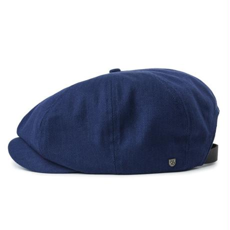 BRIXTON BROOD ADJ SNAP CAP-WASHED NAVY