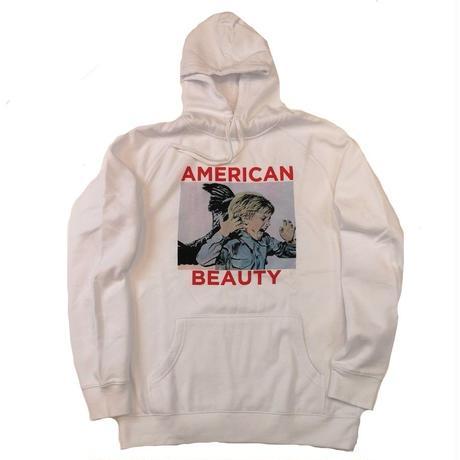 BOW3RY AMERICAN BEAUTY P/O HOOD  WHITE