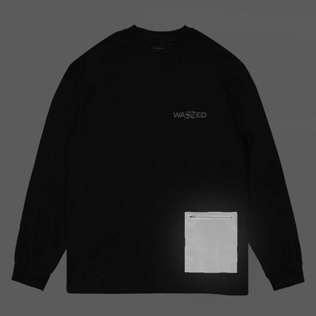 WASTED PARIS TECHNIC L/S TEE-BLACK