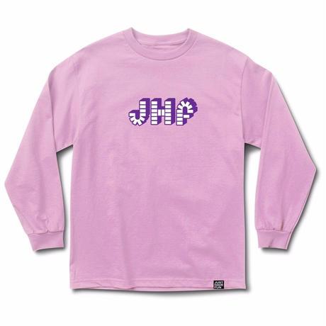 JHF  BRICK BY BRICK L/S TEE     PINK