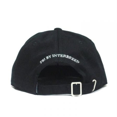 【INTERBREED】SPORTS BEAR EMBROIDERED BALL CAP(BLACK)