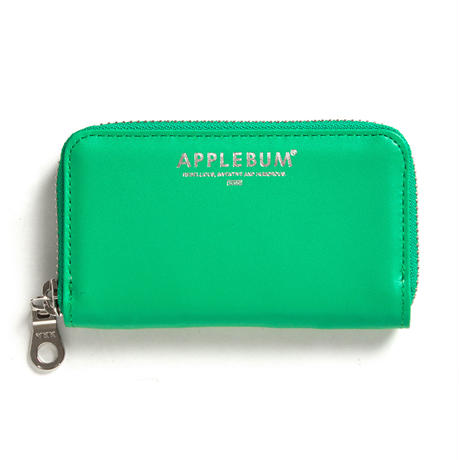 【APPLEBUM】LEATHER COIN CASE [Green]