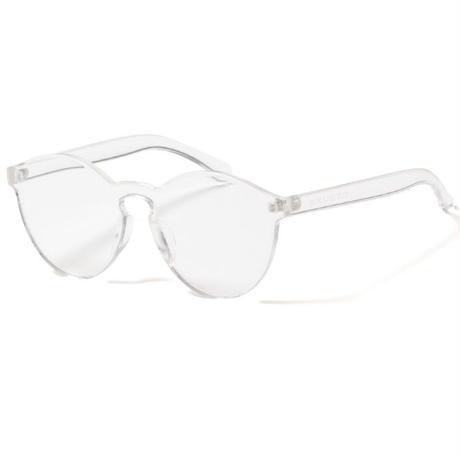 【APPLEBUM】Rimless Acrylic Sunglass [Clear]