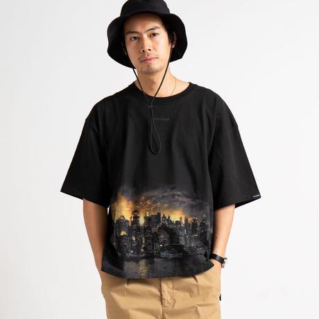 "【APPLEBUM】""Gotham City"" Big T-shirt"