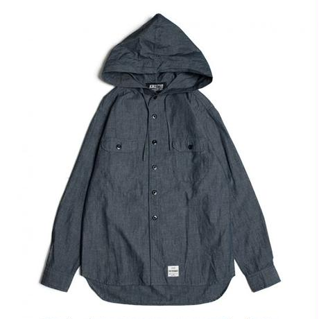 【KIKS TYO】HOODED SHIRTS