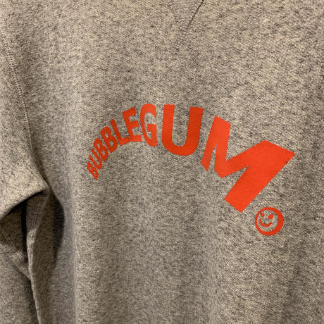 【bubblegum】super logo sweat