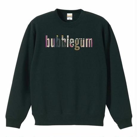 【bubblegum original】crew neck sweat