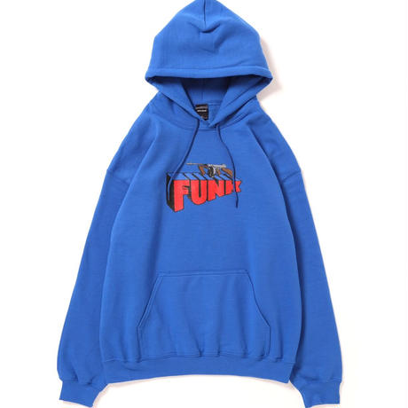 "【APPLEBUM】 ""Machine Gun Funk"" Sweat Parka [Blue"