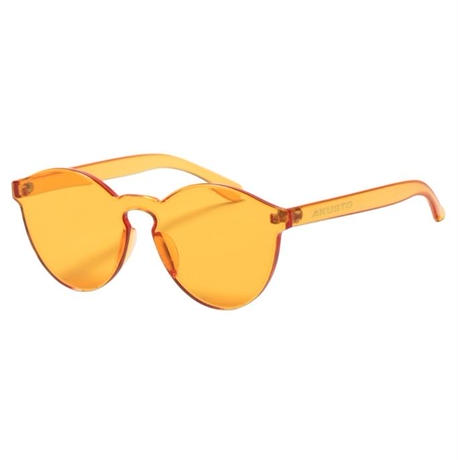 【APPLEBUM】Rimless Acrylic Sunglass [Orange]