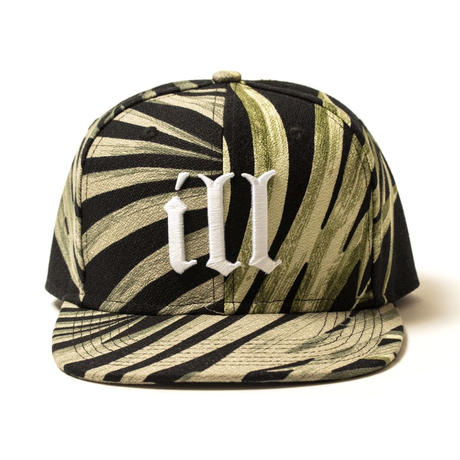 "【APPLEBUM】""ill"" Palm Leaf Snapback Cap"