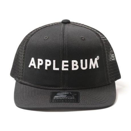 【APPLEBUM】Logo Mesh Cap (Starter Body)[Black]