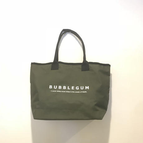 【bubblegum】polyester tote bag