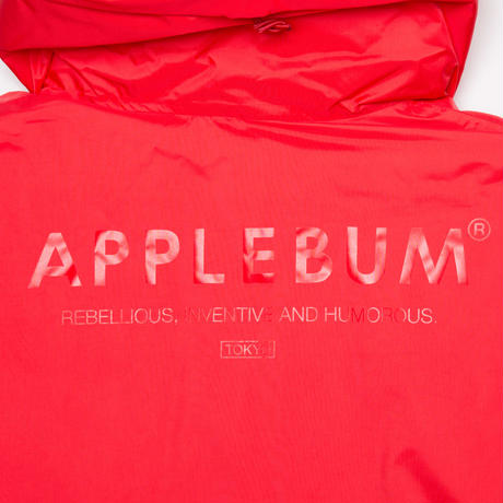 【 APPLEBUM】Nylon Down Jacket [Red]