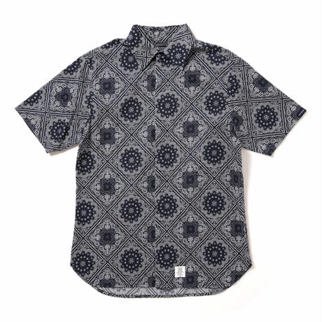 【APPLEBUM】Paisley Fly Front SS Shirt