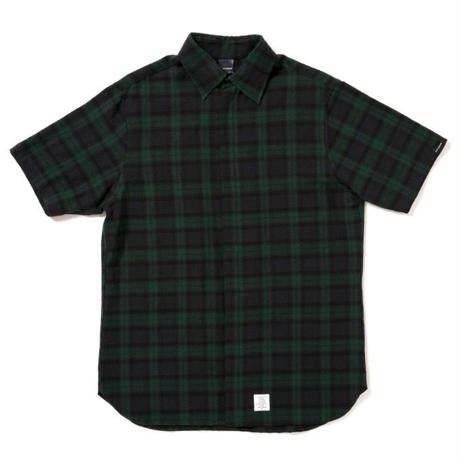 【APPLEBUM】Blackwatch Fly Front SS Shirt