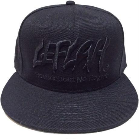 【LEFLAH】2016AW】LEFLAH LOGO CAP(BLK)
