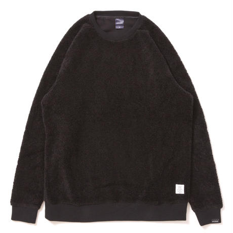 【APPLEBUM】Boa Crew Neck [Black]