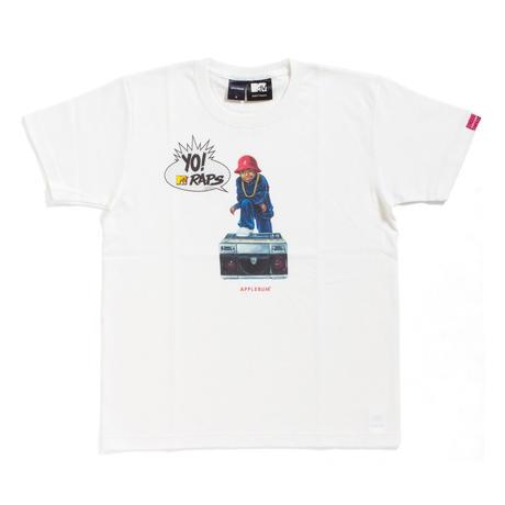 【APPLEBUM】【YO! MTV RAPS Collaboration】 B-BOY T-shirt