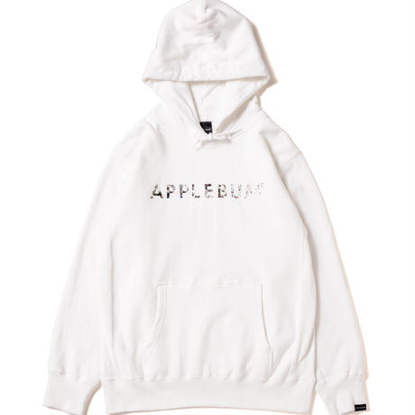【APPLEBUM】Sampling Sports Logo Sweat Parka [White]