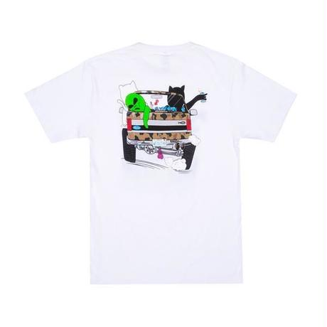 【RIPNDIP】THE WHOLE GANG TEE (WHITE)