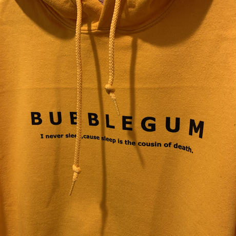 【bubblegum】Message  Logo Parka