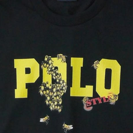 "【INTERBREED】RE-DESIGN SERIES ""P.L.O. KILLER BEE SS TEE""(BLACK)"