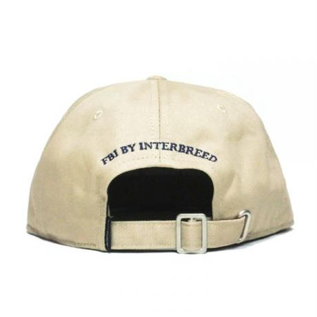 【INTERBREED】P WING BEAR EMBROIDERED BALL CAP(BEIGE)
