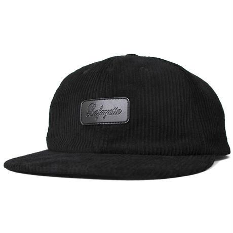 【Lafayette】LEATHER PATCH 6 PANNEL CORDUROY CAP