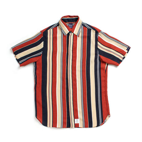 【APPLEBUM】Multi Stripe Fly Front S/S Shirt