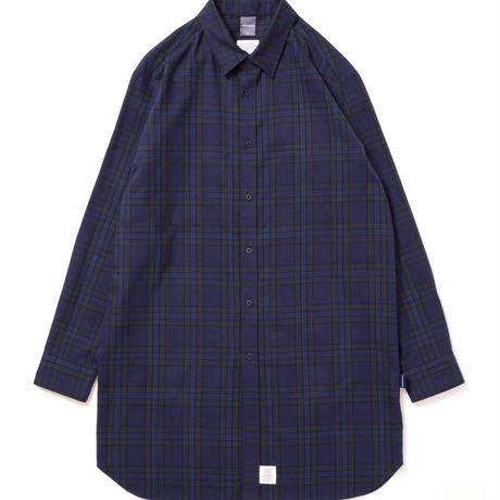 【APPLEBUM】Blackwatch Long Nel Shirt