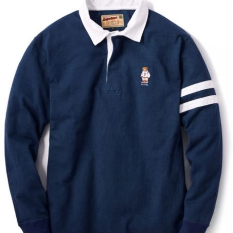 【INTERBREED】FBI RUGBY SHIRT(NAVY)