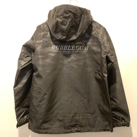 【bubblegum】tiger camo shell jacket