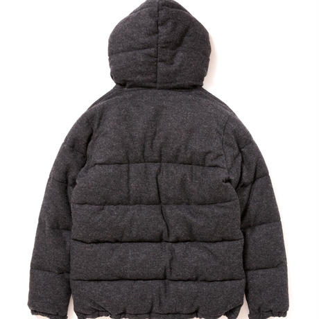 【APPLEBUM】Wool Flannel Inner Cotton Jacket [black]