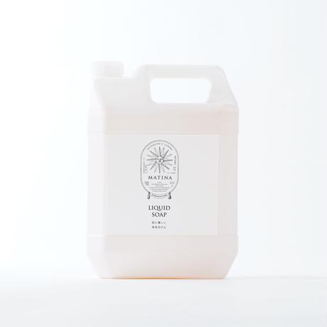 肌に優しい液体石けん (リキッド) 大容量ボトル 4000ml