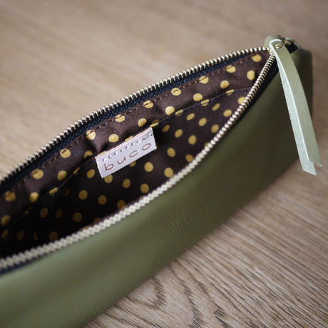 New Pen case / Khaki