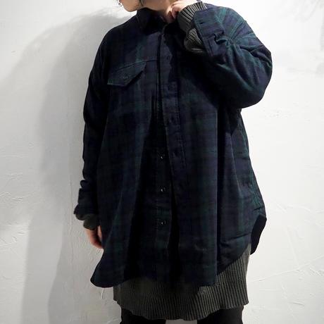 TISSU / エターミンチェックミリタリーシャツ / TS213SH074