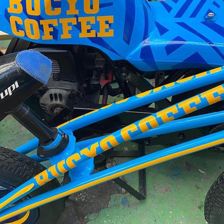BUCYOCOFFEEステッカー  300×35