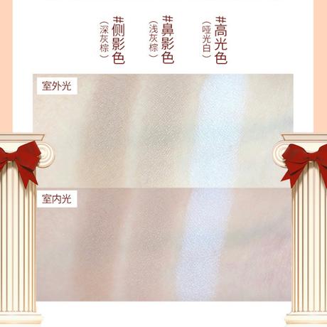 Flower Knows × Bacio Bouquetラブベアシリーズ・3色トリミングハートパレット