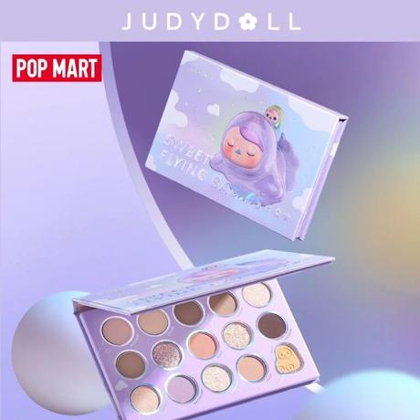 Judydoll×POP MART15色アイシャドウパレット