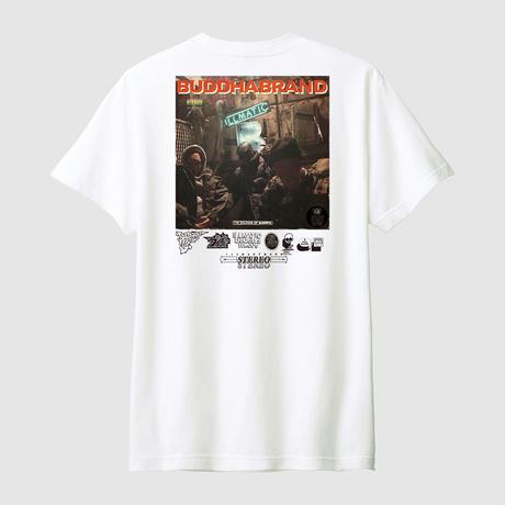 BUDDHA BRAND 『これがブッダブランド!』LPバージョン Tシャツ + アルバム全曲音源ダウンロード付き (White)