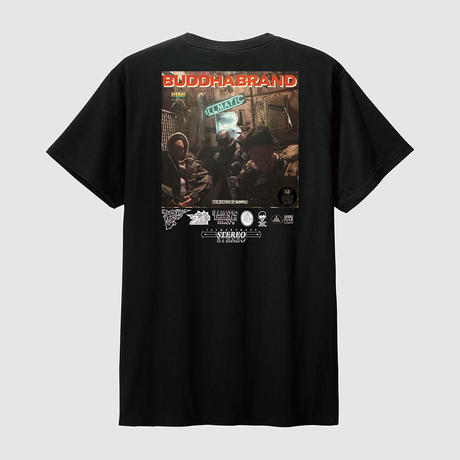 BUDDHA BRAND 『これがブッダブランド!』LPバージョン Tシャツ + アルバム全曲音源ダウンロード付き (Black)