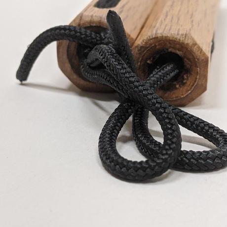 ミニヌンチャク(八角/15cm/紐) Mini Nunchaku(Oak/Hakkaku/15cm/Rope)