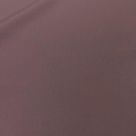 特色ポリエステル 紋付着物 古代紫 Color polyester Montsuki-Kimono  Kodaimurasaki SIZE L
