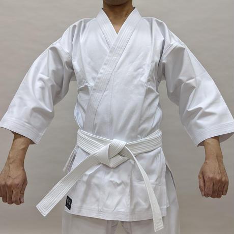 拳王印 空手着 上衣 Karate-Gi Jacket #11晒帆布 White Canvas SIZE4