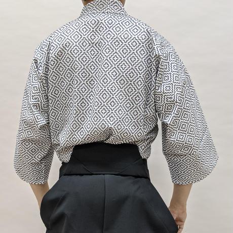 櫻屋印 剣衣 江戸刺 晒 Ken-Gi Edo-zashi White SIZE5