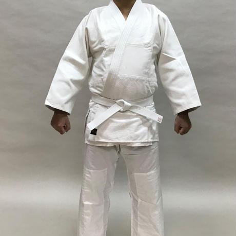 櫻屋印 合気道着 Aikido-Gi #525(晒一重/背継 Single layer White/with back seam)