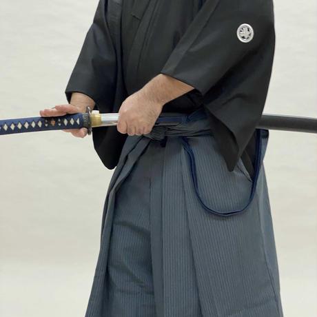 櫻屋印 縞袴 テトロン Stripe-Hakama Tetoron 21-24